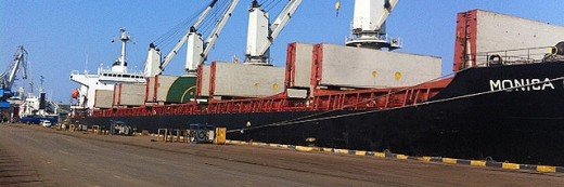 Steel scrap is shipped from Continent to Turkey by AEC
