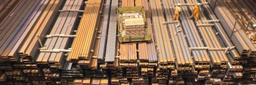 A variety of Steel Products